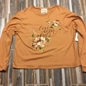 French Pastry Love Never Fails Long Sleeve TShirt
